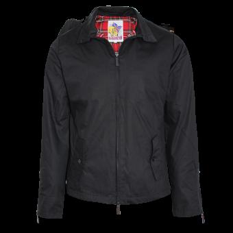 Harrington rain jacket (black)