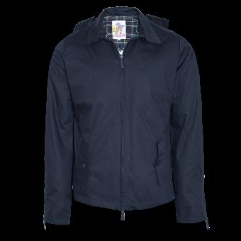 Harrington rain jacket (navy)