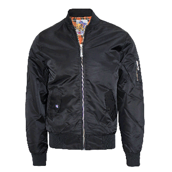 Harrington Bomber Jacket (black)
