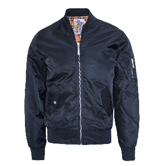 Harrington Bomber Jacket (navy)