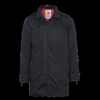 Harrington Trenchcoat (schwarz)