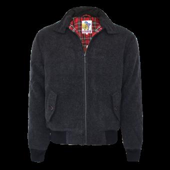 Harrington Melton Jacket (Chevron)