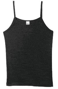 Trägershirt (Girly) (schwarz/black)