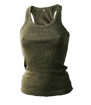 Racerback Girly-Tank Top (Continental)