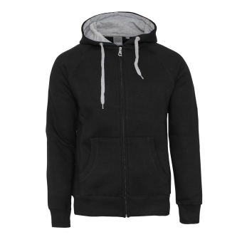Sonar Rebel Men Zip Hood Jacket (black/grey)