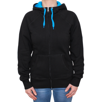 Sonar Rebel Girl Zip Jacke (schwarz/blau)
