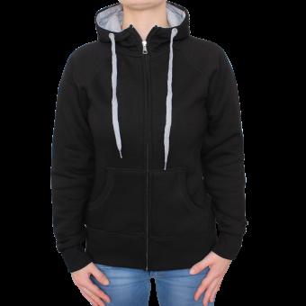 Sonar Rebel Girl Zipjacket (black/grey)
