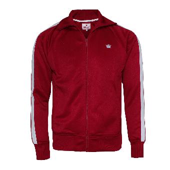 "Kings League ""04"" Trainingsjacke (red/white)"