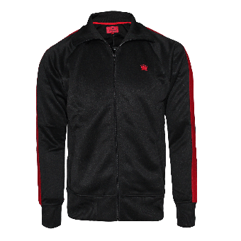 "Kings League ""04"" Trainingsjacke (black/red)"