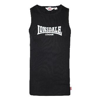 "Lonsdale - Muscleshirt  ""Galaxy"" (schwarz/black)"