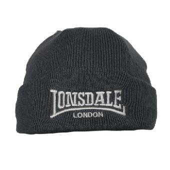 "Lonsdale  Wollmütze  ""Bobhat"" (grau/grey)"