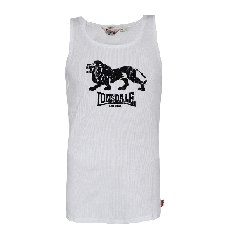 """Lonsdale """"Foxberry"""" Muscleshirt (white)"""