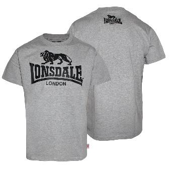 "Lonsdale  ""Promo/Logo"" T-Shirt (grey) (S)"