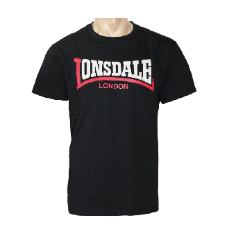 "Lonsdale ""Two Tone"" T-Shirt (schwarz)"