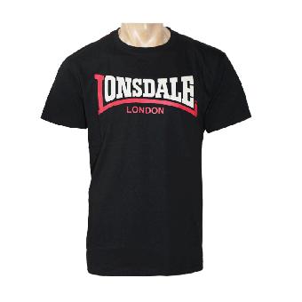 """Lonsdale """"Two Tone"""" T-Shirt (schwarz)"""