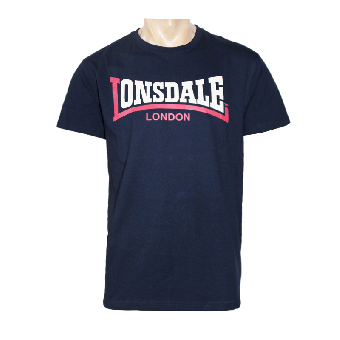 "Lonsdale ""Two Tone"" T-Shirt (navy)"