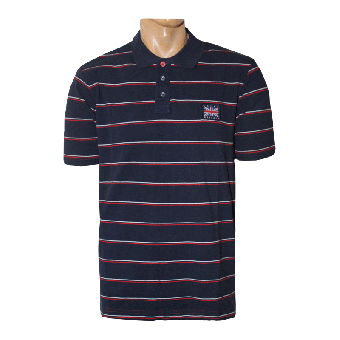 Great Britian Polo (navy/red)