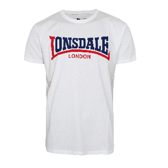 "Lonsdale ""Two Tone"" T-Shirt (weiss/white)"
