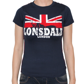 "Lonsdale ""Erykah"" Girly Shirt (navy)"