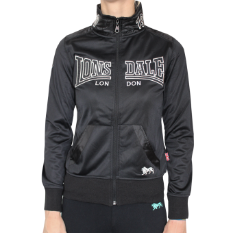 "Lonsdale ""Ellie"" Girly Trainingsjacke (black)"