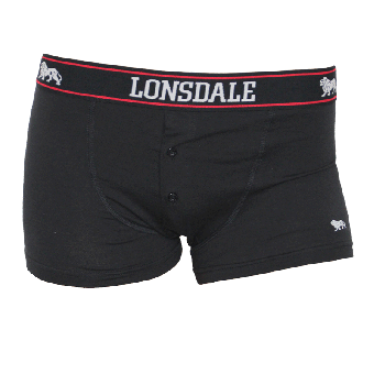 "Lonsdale ""Oakworth"" Boxershorts (2er Pack) (black)"