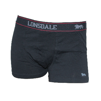 Lonsdale 2 Pack Trunk Mens (black)