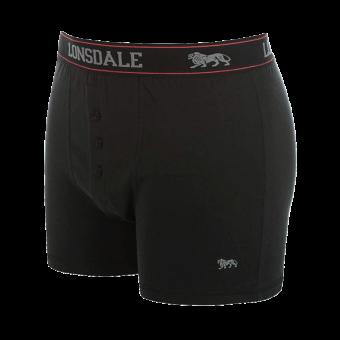 "Lonsdale ""Logo"" Boxershorts (2erPack) (schwarz)"