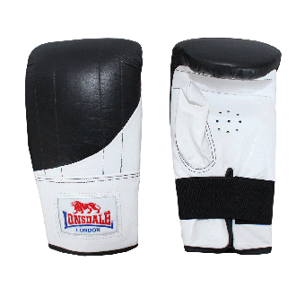 """Lonsdale """"Pro Style"""" Boxhandschuh (black/white)"""