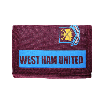 "West Ham United ""Team"" Wallet (claret)"