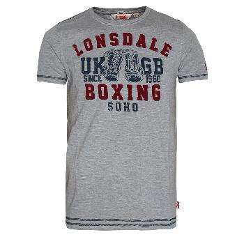 """Lonsdale """"Cobham"""" T-Shirt (grau)"""