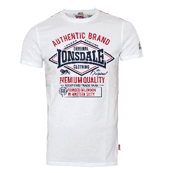 """Lonsdale """"Swanley"""" T-Shirt (white)"""