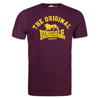 "Lonsdale ""Original"" T-Shirt (oxblood)"