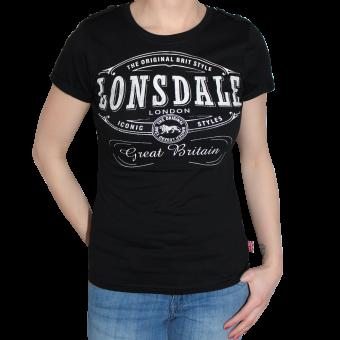 "Lonsdale ""Saint Annes"" Girly Shirt (black)"