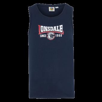 """Lonsdale """"Tilehurst"""" Muscleshirt (navy)"""