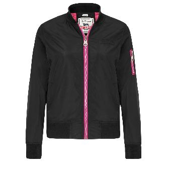 """Lonsdale """"Stroud"""" Ladies Jacket (black)"""
