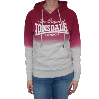 "Lonsdale ""Silverton"" Ladies Kapu (grau/pink)"
