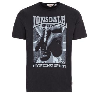 "Lonsdale ""Newtown"" T-Shirt (black)"