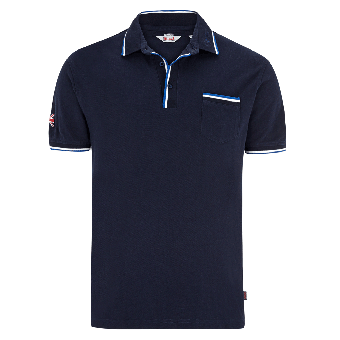 "Lonsdale ""Johnstone"" Polo (dark navy)"