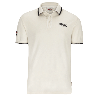 "Lonsdale ""Uxbridge"" Polo (ecru)"