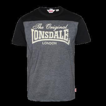"""Lonsdale """"Leadhills"""" T-Shirt (marl ash)"""