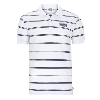 "Lonsdale ""Diss"" Polo (weiss/navy)"
