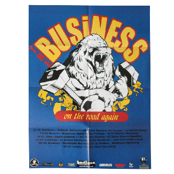 """Business,The """"On The Road Again"""" Poster A1 (gefaltet)"""