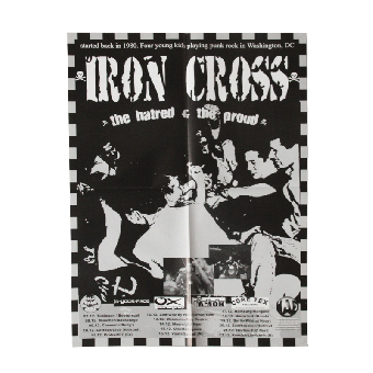 "Iron Cross ""Washington D.C."" Poster A2 (gefaltet)"