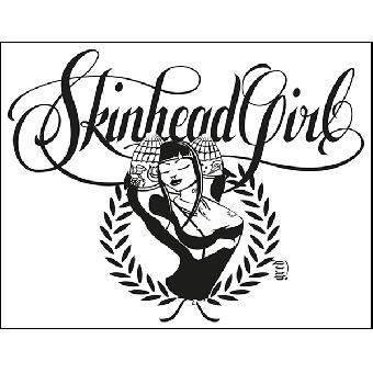 Skinhead Girl - Poster