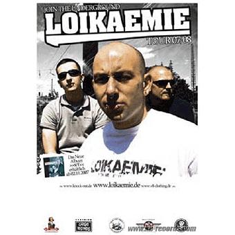 "Loikaemie ""Tour 2007/08"" A1 Poster (gefaltet)"