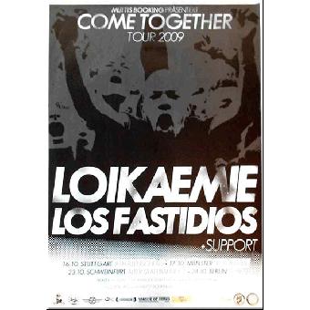 """Loikaemie / Los Fastidios """"Live"""" Poster (gefaltet)"""