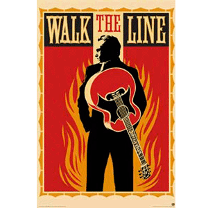 Walk the Line - Poster (gerollt)