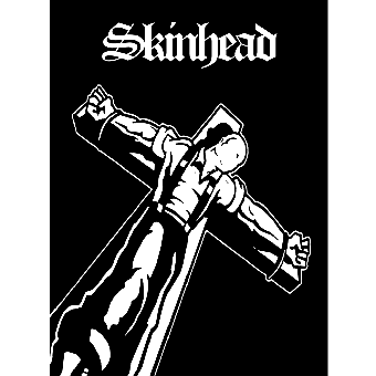 Skinhead (Crucified) - Poster (gefaltet)