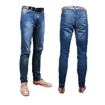 Röhrenjeans (Herren)  (blue)