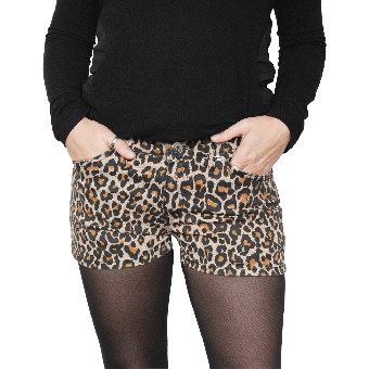 "Darkside ""Leo"" Hot Pants (brown)"